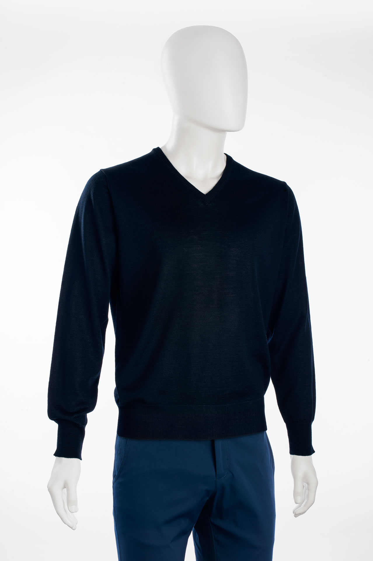 Pullover uomo manica lungaART.1500 colore 1214 navy