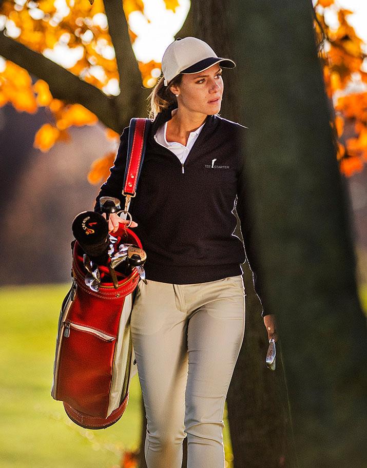 Abbigliamento da golf collezione donna