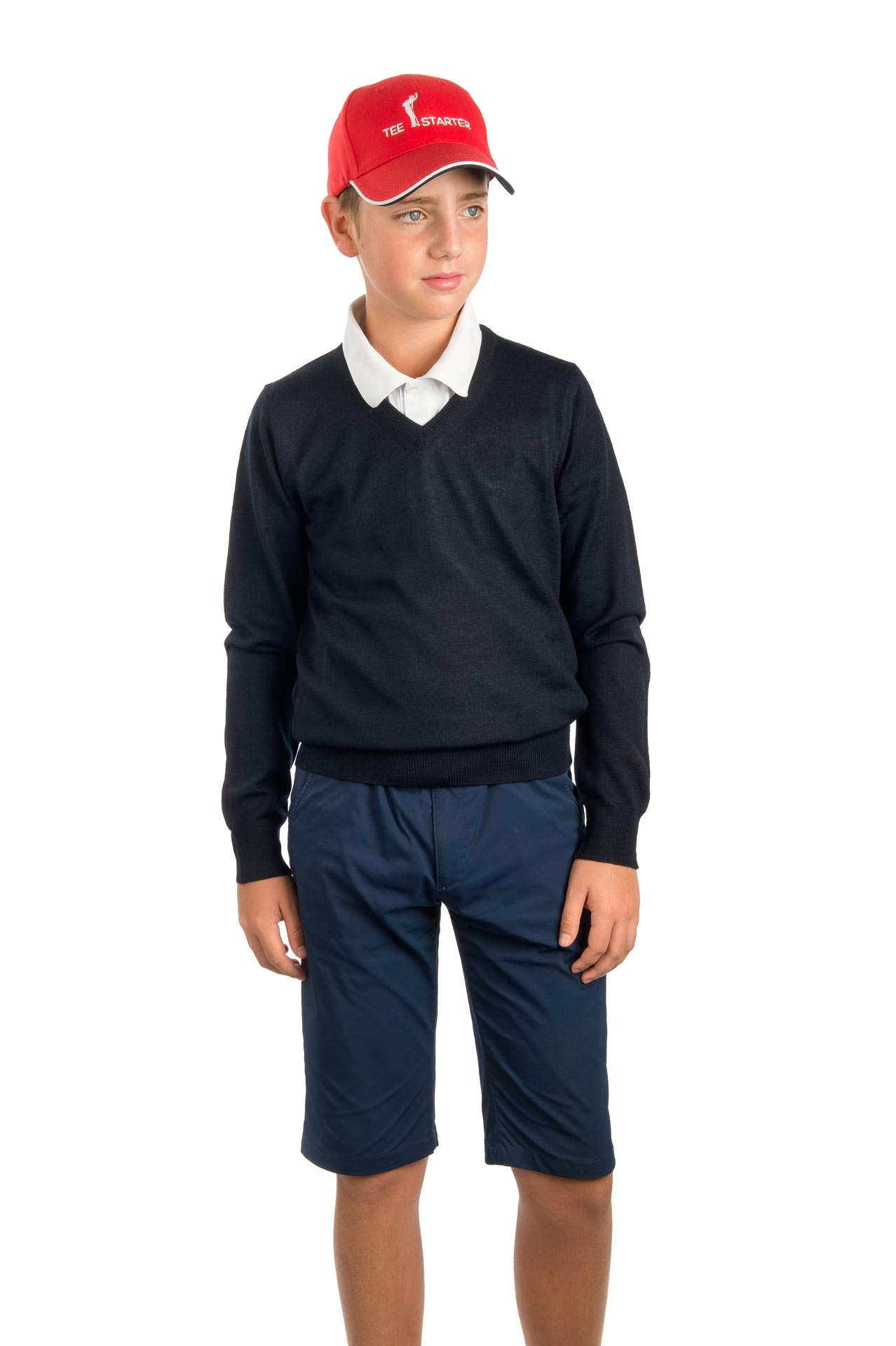Pullover bambino Art.200 colore blu navy 1214